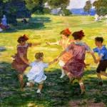 Edward_Potthast_Ring_Around_the_Rosie_1910_1915